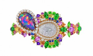 DIOR JOAILLERIE JOLY93026 - MAJESTUEUSE OPAL HIGH JEWELLERY TIMEPIECE (2)